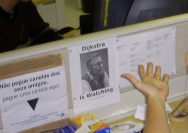 Dijkstra na minha baia