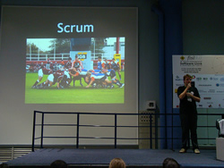 Scrum no FISL