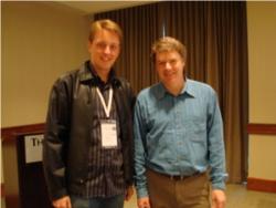 Guilherme Chapiewski e Eric Evans