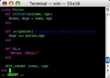Terminal colorido