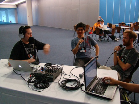 Dev in Rio 2009 - Podcast recording